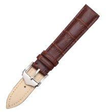 Fashion Watchbands Leather Watch Strap Waterproof Watch Chain  20 MM  Brown