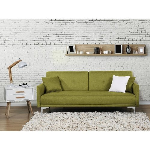 Upholstered sofa bed - Couch - Fabric - Settee -  - LUCAN