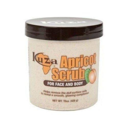 Kuza Apricot Scrub for Face & Body 425g