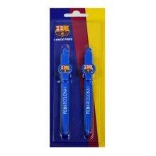 F.c. Barcelona Pen Set Cr Official Merchandise - Fc Football Licensed Product 2 -  barcelona set fc pen cr official football licensed product 2 pack