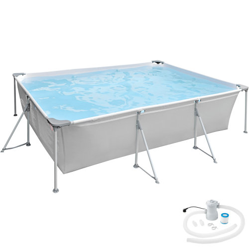 Rectangular Swimming Pool with pump
