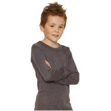 OCTAVE Boys Thermal Underwear Long Sleeve T-Shirt / Vest / Top