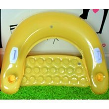 Floating Floor The Water Inflatable Bed Cushion Couch Sofa Yellow
