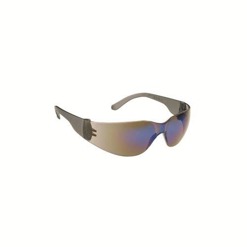 Stealth 7000 Glasses - Smoke Frame - Red Hardcoat Mirror Lens