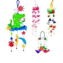 Beatiful DIY Dream Catcher Craft Kit Nice Children Gifts Can Make 4 PCS