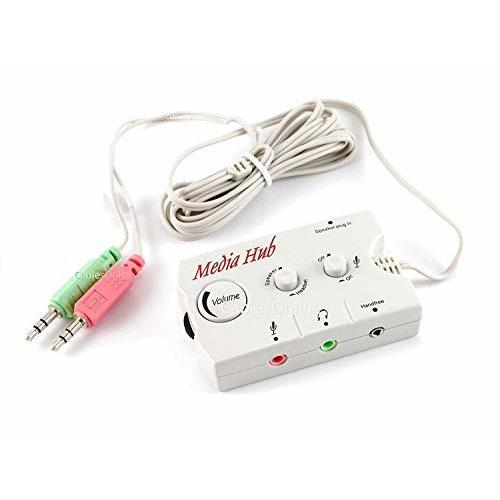 Audio Speaker Headset Switching Hub Manhattan 172851