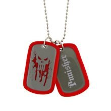 Jewel M The Punisher Double-Sided Dog Tag