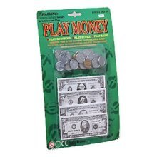 Play Money Set W/bills & Coins