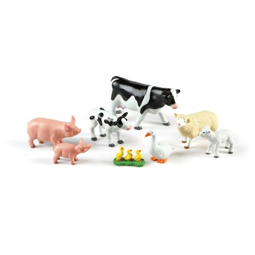 Learning Resources Jumbo Mommas and Babies Farm Animals