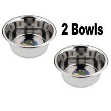 Stainless Steel Dog Bowls 13cm