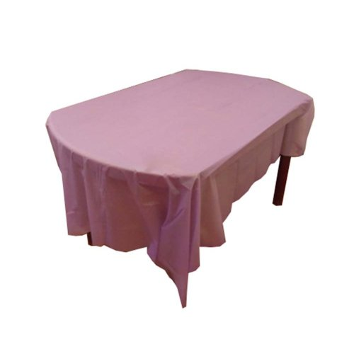 Set of 2 Rectangule Disposable Tablecloths for Home/Hotel/Restaurant,Purple