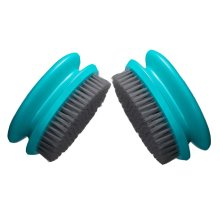 Deep Clean Brush Soft Brush for Clothes, Green Cleaning Brushes Set of 2
