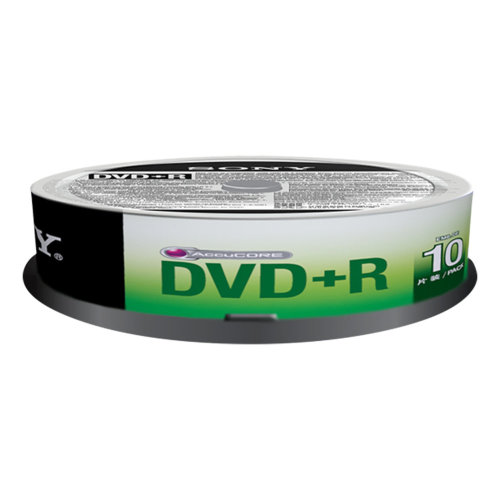 Sony DVD+R, 16X, SPINDLE 100 PCS