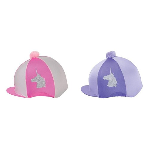 Little Rider Unicorn Glitter Hat Cover
