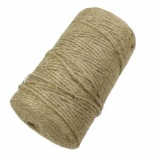 2 Piece x 328 Feet - 2mm DIY Jute Twine Packing Strings Decorating Rope Crafts