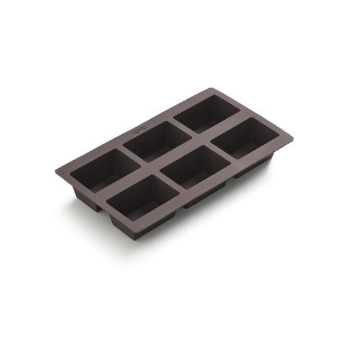 Lekue Six Hole Silicone Mini Loaf Pan