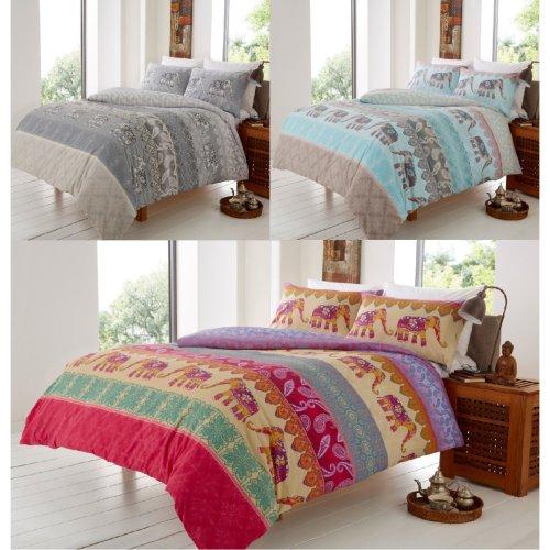 Elly Elephant Modern Duvet Cover Bedding Set All Sizes