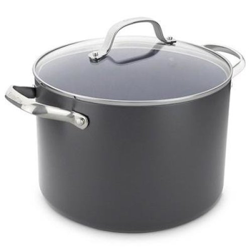 24cm Stockpot with lid 7.6L (Gd N/S)