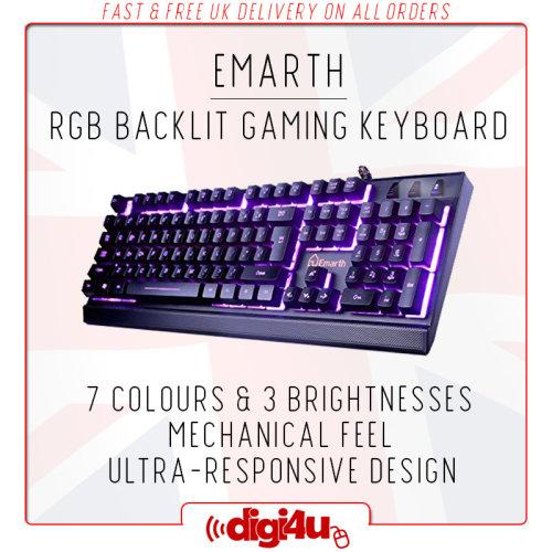 Universal Backlit RGB Gaming Keyboard