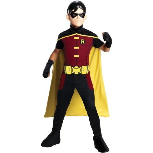 Young Justice Robin Costume Size: Small