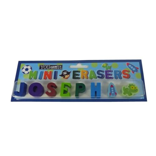 Childrens Mini Erasers - Joseph