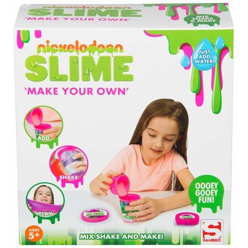 Nickelodeon Make Your Own Slime Boxed Sambro For Girls