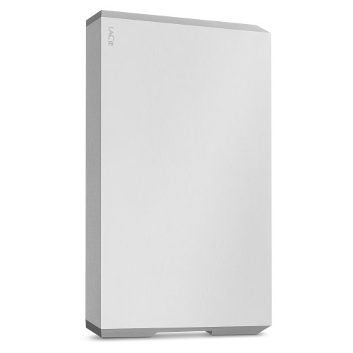 LaCie STHG1000400 1TB Mobile Drive - Moon Silver STHG1000400