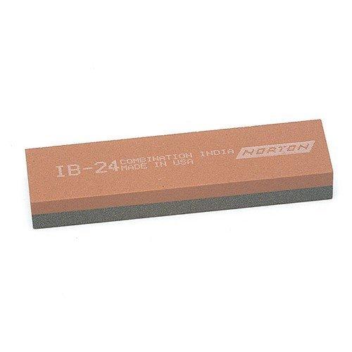 India 61463626001 IB24 Bench Stone 100mm x 25mm x 12mm - Combination