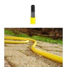 "Long Flexible Three Layer Garden Yellow Hose Hosepipe 1/2"" 3/4"" 1"" Diameter"