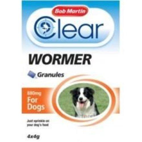 Bob Martin Clear Wormer Granules -dog (4xsch)