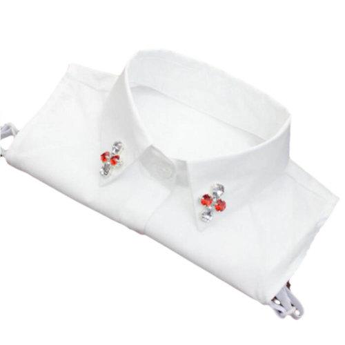 Elegant Women's Fake Half Shirt Blouse Collar Detachable Collar-A13