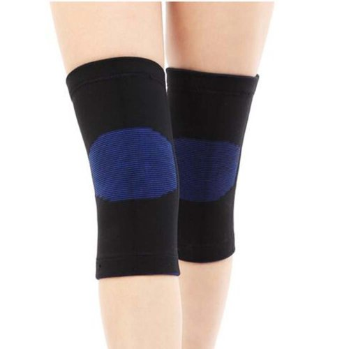 Sport Knee Compression Support Sleeve Knee Pads Knee Protector Brace(Pair), A7