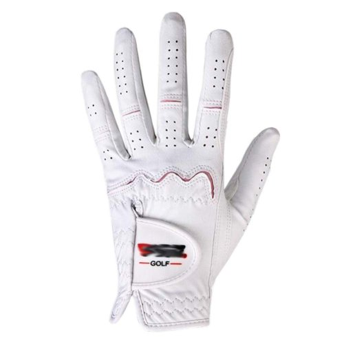 Summer Sun-proof Golf Gloves Women Protection Non-slip,White&Pink(#18)