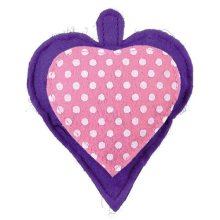 Trixie Felt Heart With Valerian Filling Cat Toy, 11cm - 11cm Different Colours -  trixie valerian heart 11 cm different colours cat toy