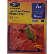Sumvision A6 230gsm Premium Gloss Photo Paper