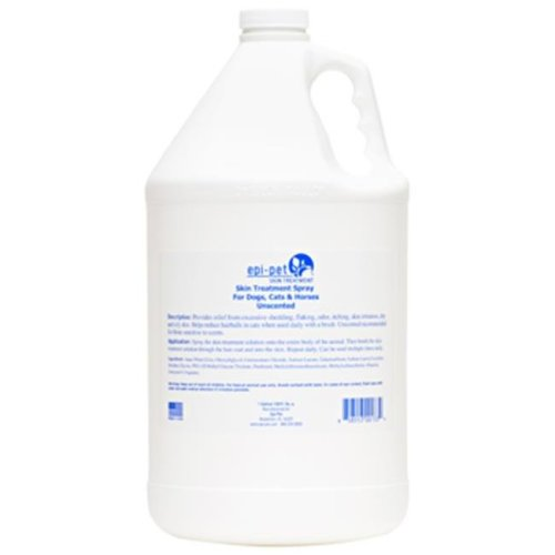 Epi-Pet 90782 Unscented Skin & Coat Enrichment & Treatment Spray For Pets, 1 gallon