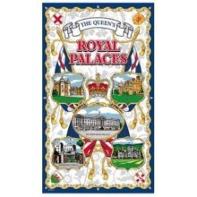 Royal Palaces Tea Towels Souvenir Gift Buckingham Windsor Queen Elizabeth II New