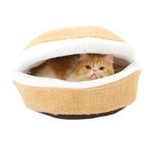 Four Seasons Shell Nest Windproof Removable Pet Cat Bed House, 45CM