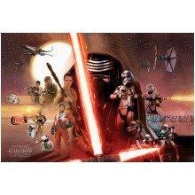 Star Wars Episode 7 Galaxy Maxi Poster
