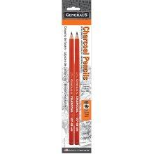 Charcoal Pencils 2/Pkg-4B