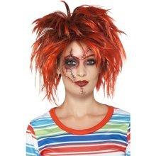 Adult's Chucky Make Up Kit - Halloween Make Fancy Dress Smiffys Costume Doll -  chucky kit halloween makeup fancy dress smiffys costume doll horror