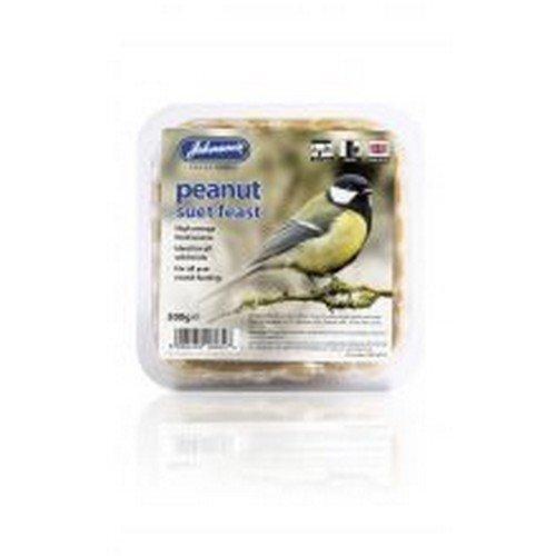 Johnsons Peanut Suet Feast Wild Bird Treats