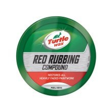 Turtle Wax Red Rubbing Compound Car Paint Restorer Removes Stains & Heavy Oxidation 250g