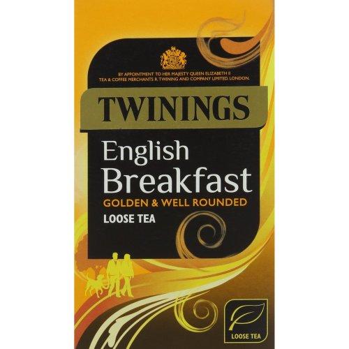 Twinings English Breakfast Loose Tea 125 g (Pack of 4)