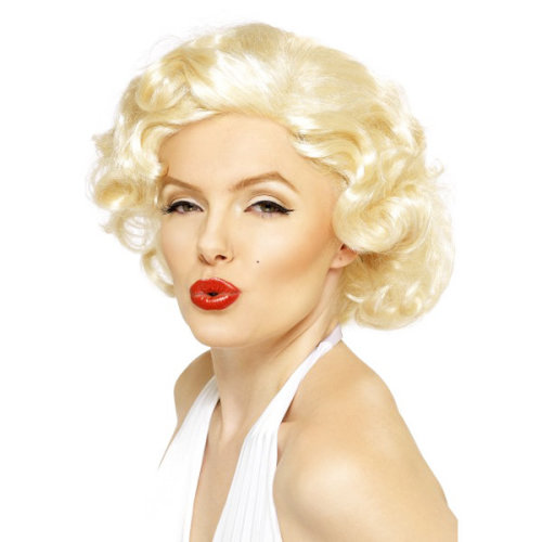 Smiffys Female Marilyn Monroe Wig - Bombshell -  wig marilyn monroe bombshell dress fancy blonde smiffys ladies