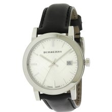 Burberry The City Leather Mens Watch BU9008