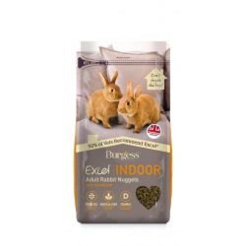 Burgess Excel Rabbit Indoor (4 pack), 4 x 1.5kg