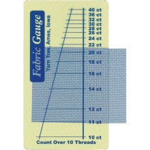"Yarn Tree Fabric Gauge 2""x3.5""-"