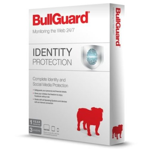 Bullguard Identity Protection 3 User (10 Pack), Retail, 1 Year