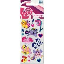 My Little Pony Foil Stickers - Set of 3 Sheets